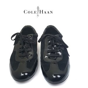 Cole Haan Nike Air Black Oxford Shoes